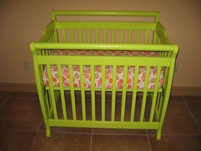 mini crib decor mini crib bedding diy home blog gallery