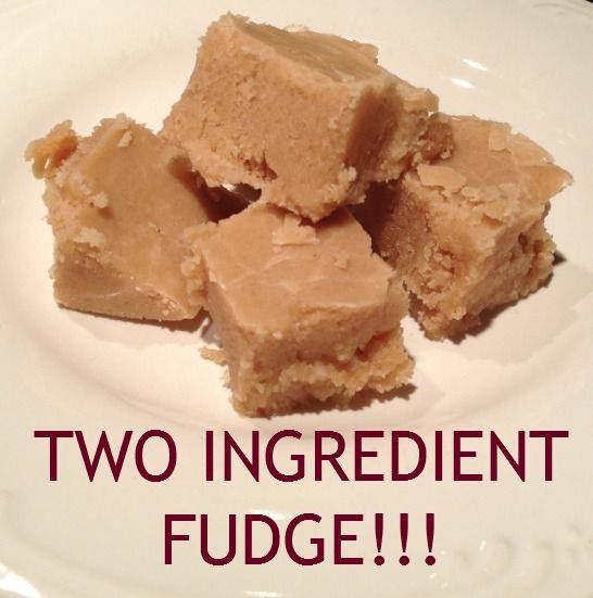 TWO INGREDIENT FUDGE Recipes! You won't go back!! #Fudge #Candy #Recipes