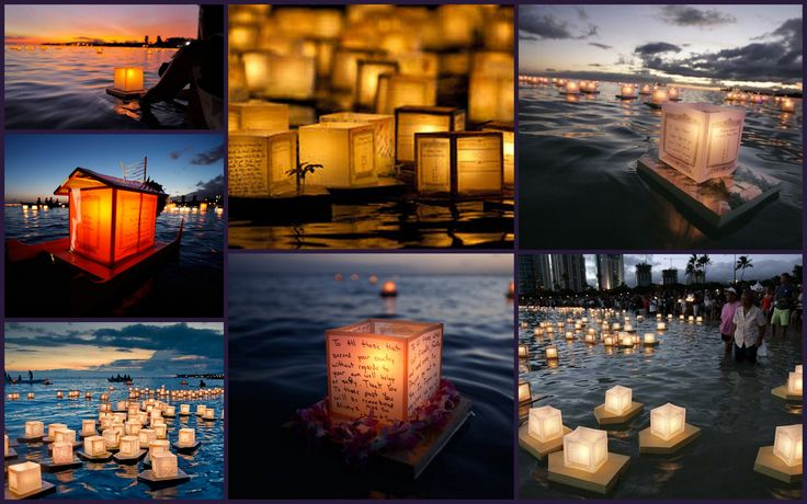 Festival de las linternas flotantes de HawaÏ