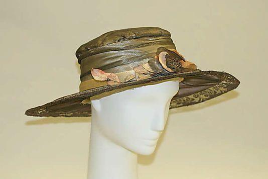 American art deco headwear from 1918-21