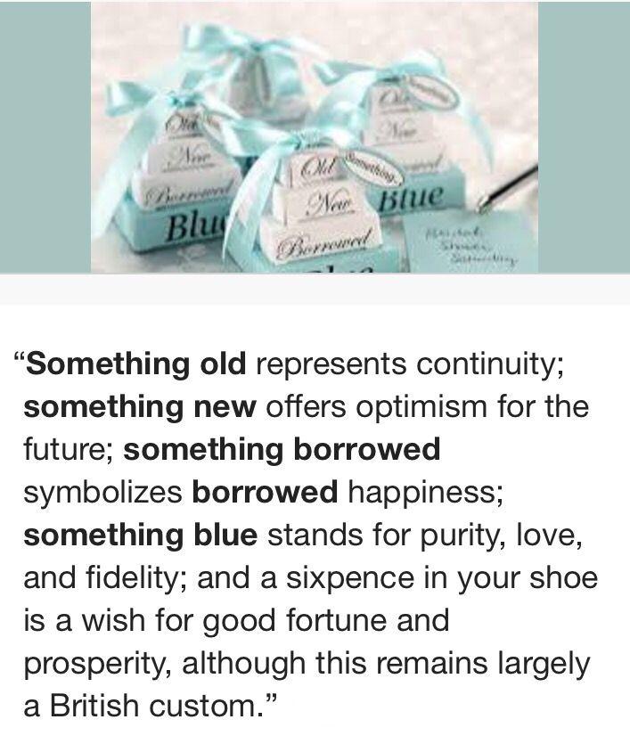 Something Old Wedding Ideas: Something Old, Something New, Something Borrowed
