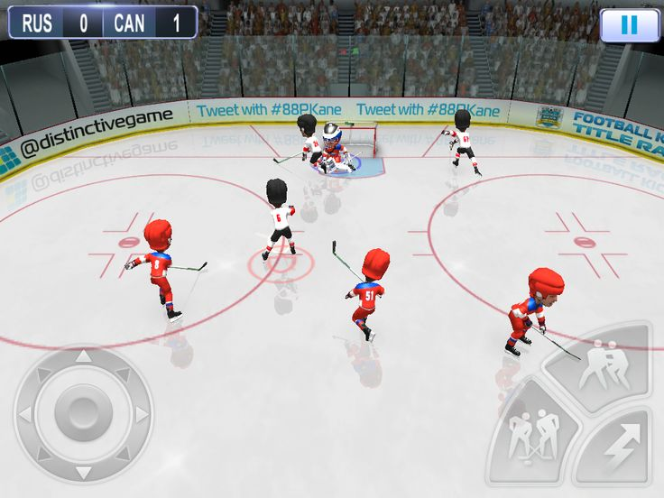 Invite your rivals to the big show by demonstrating your unbeatable hockey prowess with twisted wristers and screaming Howitzers all aimed at your opponent's top shelf.