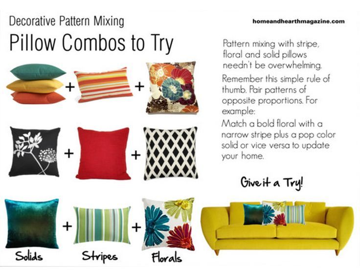 14 Best Images About Pillow Combinations Finding The