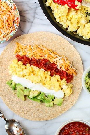 Simple Six-Ingredient Breakfast Burrito | 18 Breakfast Burritos That Will Get You Out Of Bed In The Morning