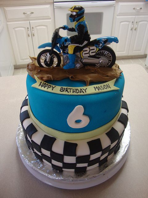 dirtbike cake | Dirt Bike Cake | Flickr - Photo Sharing!