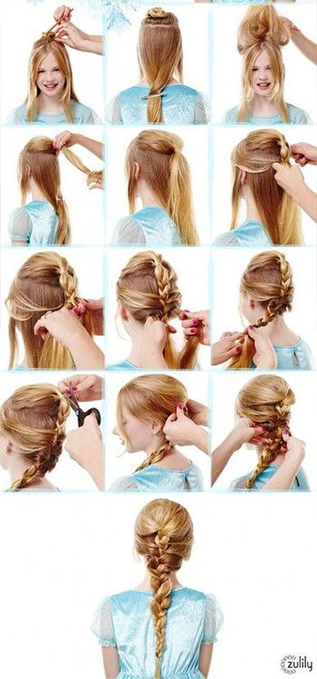 What do The Hunger Games' Katniss Everdeen and Frozen's Elsa have in common? Their hair, of course! Braids are one of the quickest, easiest ways to get your hair off your face and look chic while doing so.