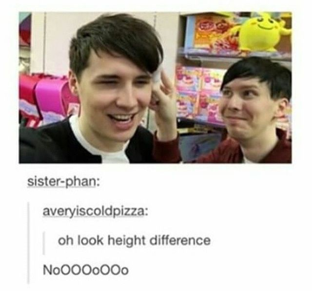 No mater what the height difference is, they are both freakishly tall