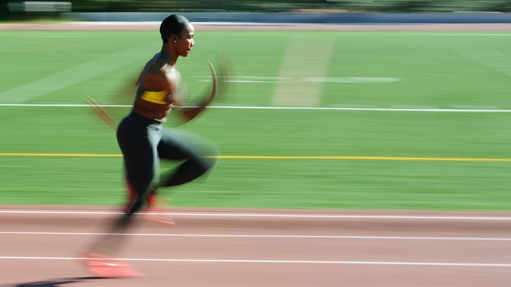 Beautifully shot video about Carmelita Jeter, the world's fastest woman