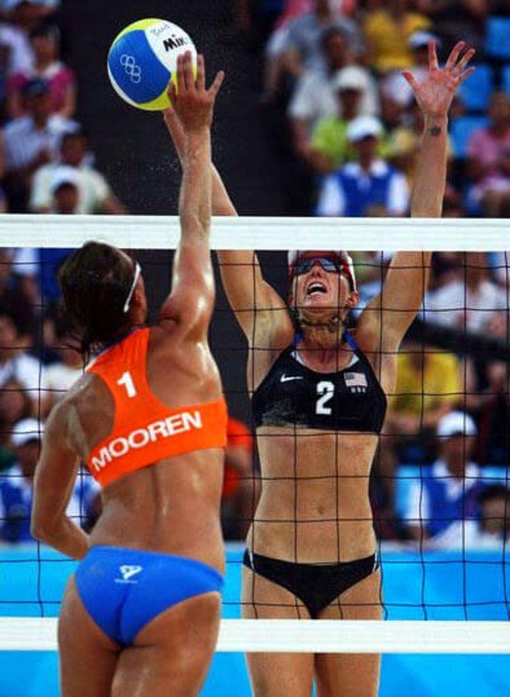 women's volleyball net height - 736×1006