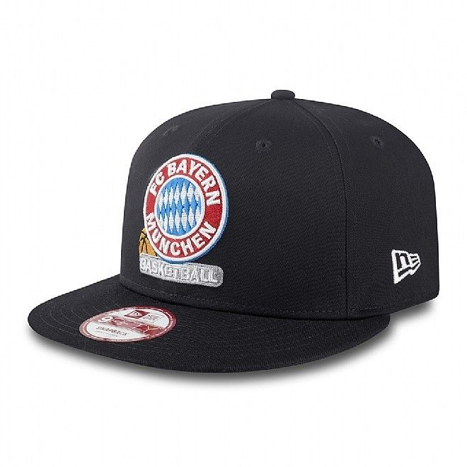 "Gorra Euroliga New Era ""FC Bayern Munich"" 9FIFTY http://www.basketspirit.com/epages/268403.sf/es_ES/?ObjectID=4853198&ViewAction=FacetedSearchProducts&SearchString=new+era"