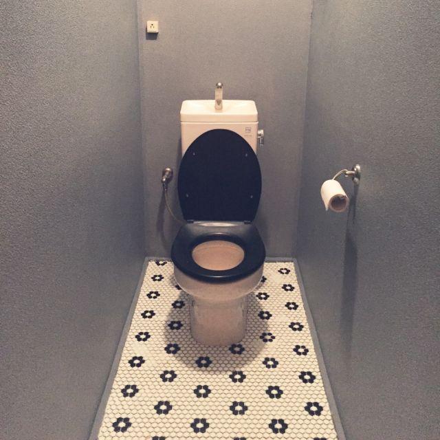 BW.HOTELさんの、AMERICAN HOUSE,FLAT HOUSE ,ACME FURNITURE,米軍ハウス,toilet ,インダストリアル,トイレ,IKEA,平屋,アメリカンハウス,フラットハウス,DIY,タイル,バス/トイレ,のお部屋写真