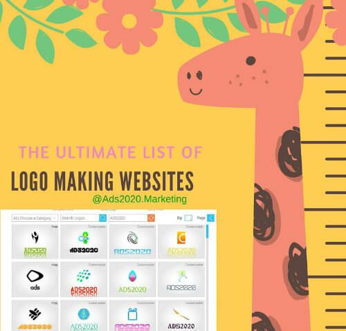 Ultimate #list of  Free logo and Banner Designing Websites… http://www.ads2020.marketing/2015/12/list-of-free-online-logo-maker-sites.html