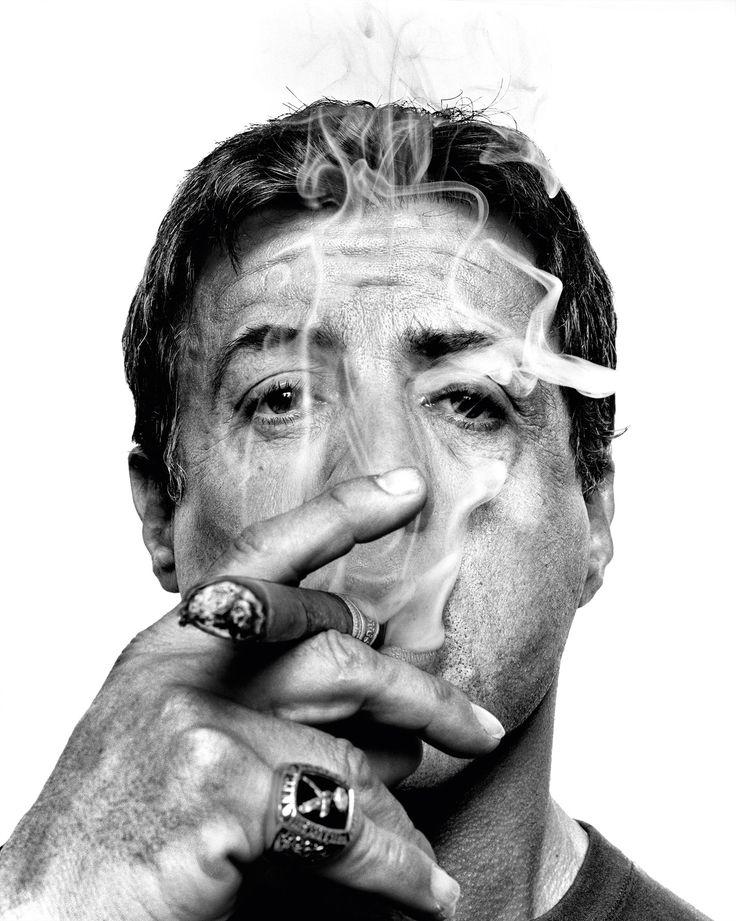 Sylvester Stallone by Platon #photowisdom #platon