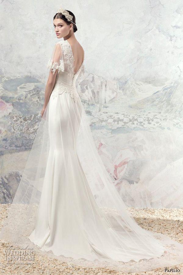 Mid Sleeve Wedding Dress