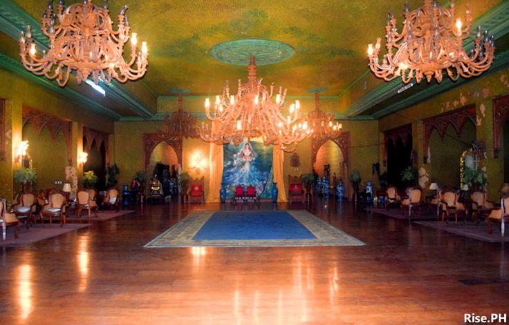 The grand ballroom in Sto. Niño Shrine Museum in Tacloban City