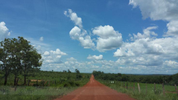 Interior do Brasil Mato Grosso do Sul Paisagem Natureza http://aquioualgumlugar.com/2014/01/16/as-atracoes-de-um-lugar-voce-e-quem-faz/