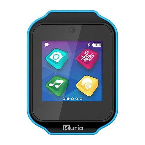 THE ULTIMATE SMARTWATCH DESIGNED FOR KIDS!'- change the wristband- comes with colour changing bands (temperature sensitive)- use your own pictures as screen backgrounds- customise your interface or watch face- more photo filters Even more kid friendly:- splashproof- scratch proof (screen protector)And carry on enjoying all the features of the original Kurio Watch:built in camera and video recordermusic player20 fun games and appsbuilt in blootooth for safe connection to other Kurio watche...