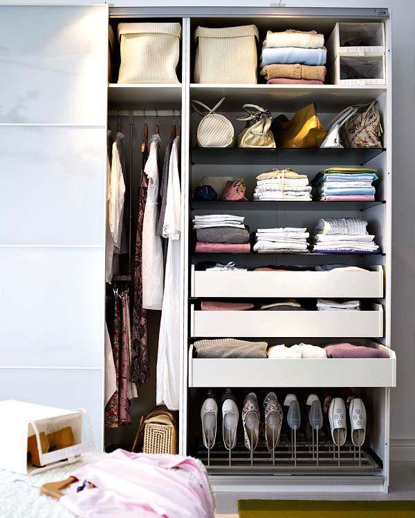 Organiza el armario para el cambio de temporada