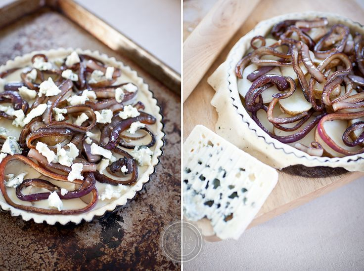 Potato, Red Onion and Blue Cheese Tart | Eat. | Pinterest