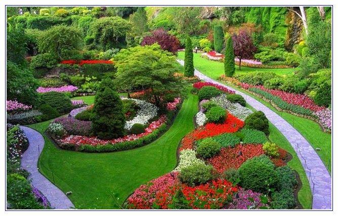 11 best images about berm planting ideas on pinterest for Circular flower garden designs