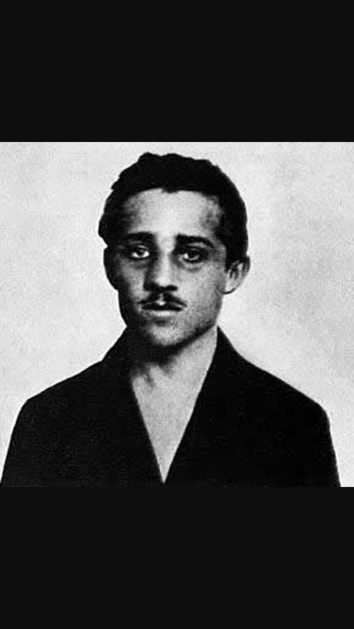 Gavrilo princip, l'uomo che ha assassinato Francesco Ferdinando.