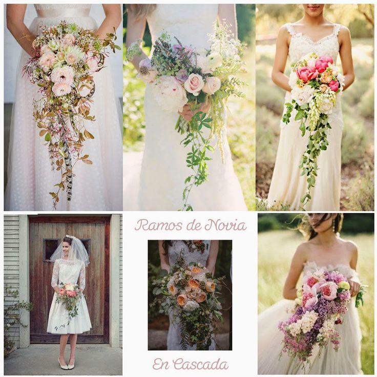 Blog de Organización de Bodas - Wedding Planner Madrid - Ramo Novia en Cascada