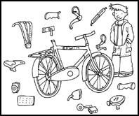 Werkblad - groep 5/6 - Een veilige fiets | VVN Basisonderwijs