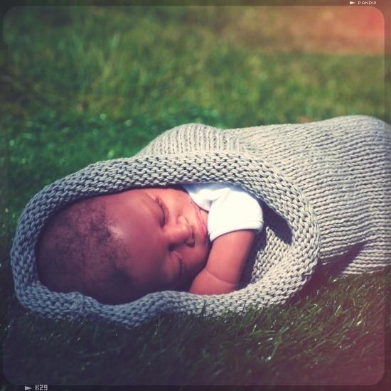 Inspi et kit à la vente / mon rouleau de printemps par Peace and wool pour emmailloter bébé