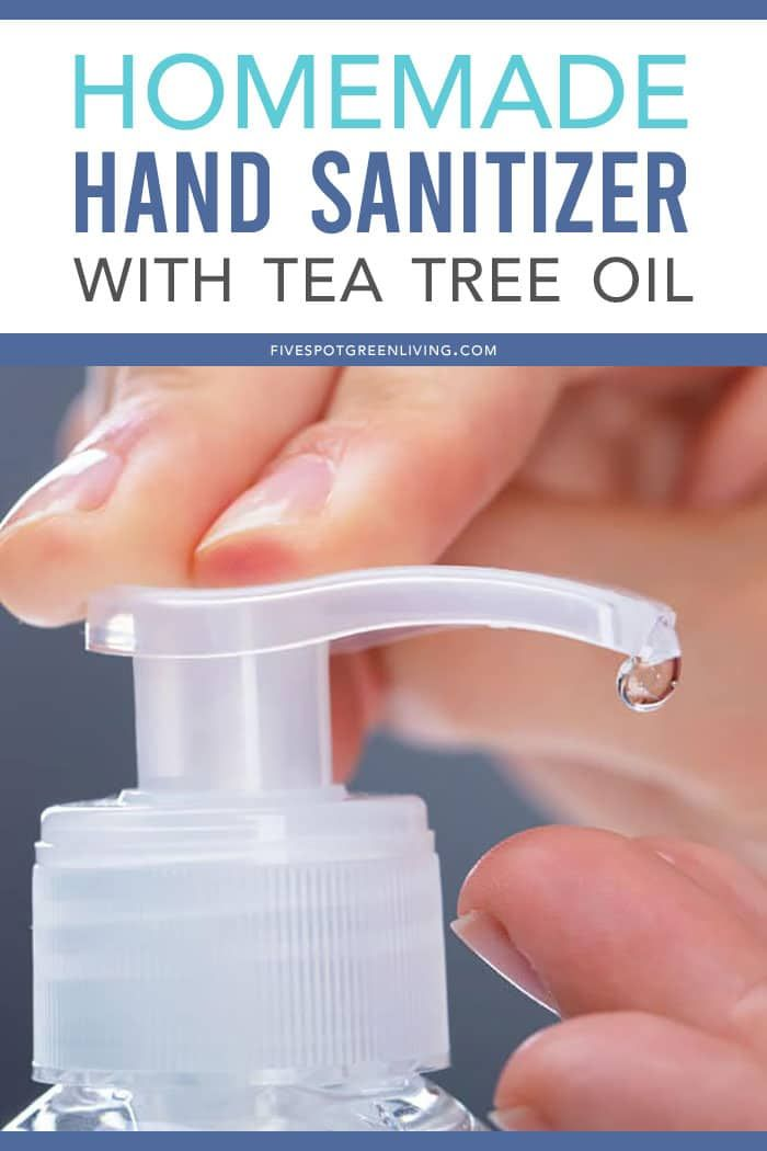 Homemade Tea Tree Oil Hand Sanitizer Recipe Tea Tree Oil Tea