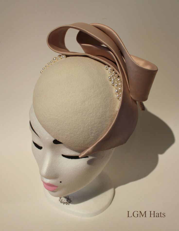The perfect hat for a mother of the bride for a winter wedding www.lgmhats.com