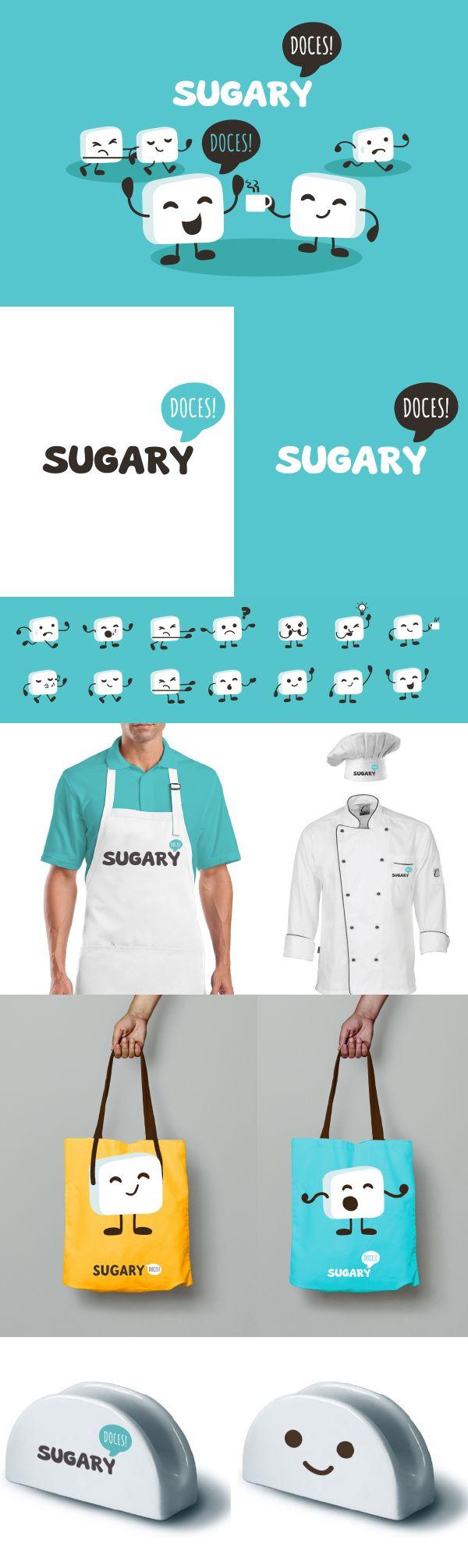 A Sugary busca oferecer gulodices frescas e com sabor de verdade. O desafio da Argo foi criar toda a identidade da marca, incluindo posicionamento, marca, papelaria, embalagens, site e até elementos da cenografia.  Através de um diagnóstico de mercado, a Argo apoiou a diferenciação da Sugary através do uso de um código de cores diferenciado e também da criação do mascote Sugarzinho.  #somosargo #branding #marca #design #cake #bolo #doces #sweet #mascote #mascot