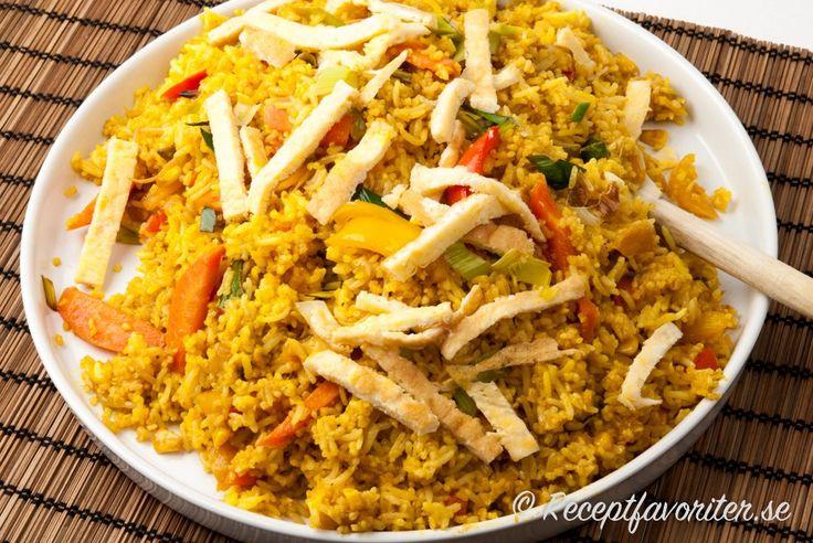 Stekt ris fried rice