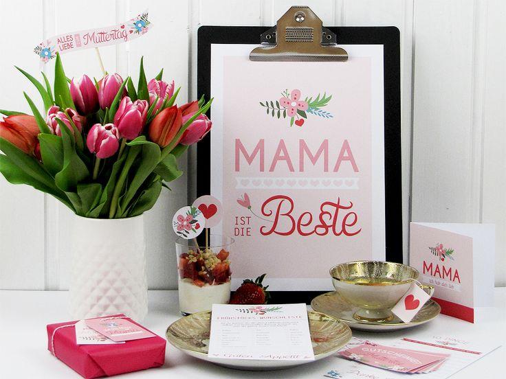 Bastelideen zum Muttertag
