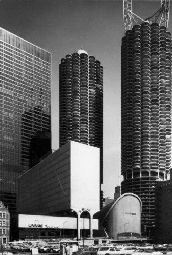 Marina City, Chicago, 1962, Bertrand Goldberg