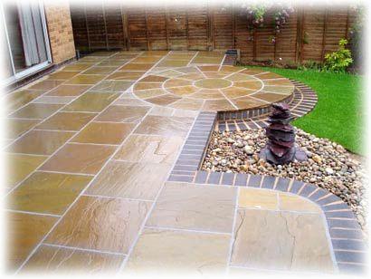 40 best patio pavers & design images on pinterest | backyard ideas ... - Garden Patio Designs
