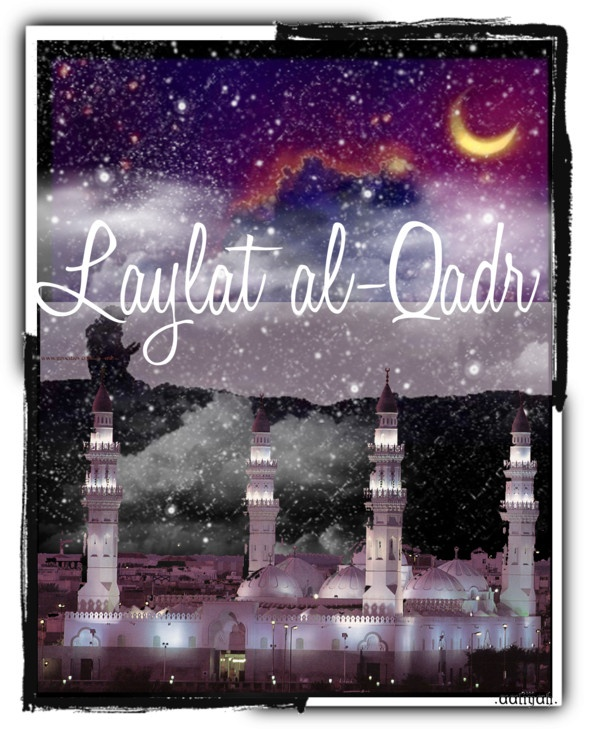 """Laylat al-Qadr"" by muslimiina ❤ liked on Polyvore"