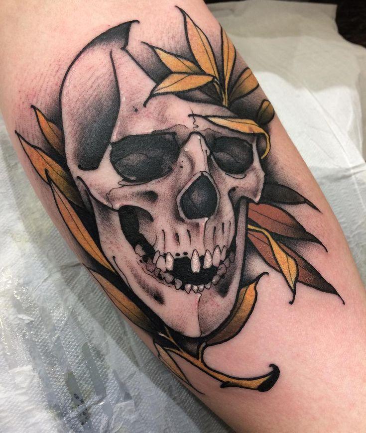 Tatuagem em Neo Tradicional criada por AG Tattoos.  #tattoo #tatuagem #art #arte #neotraditional #neotradicional