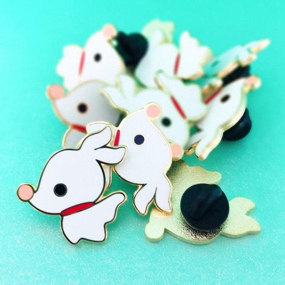 Zero the Ghost Dog Inspired | Halloweentown Dog | Enamel Pin | Nightmare Before Christmas Fantasy Pin ♡ t h e i n s p i r a t i o n Jack's trusty reliable little ghost dog! Dogs are man's best friend - dead or alive. ♡ t h e n i t t y - g r i t t y • Listing is for (1) one enamel pin •
