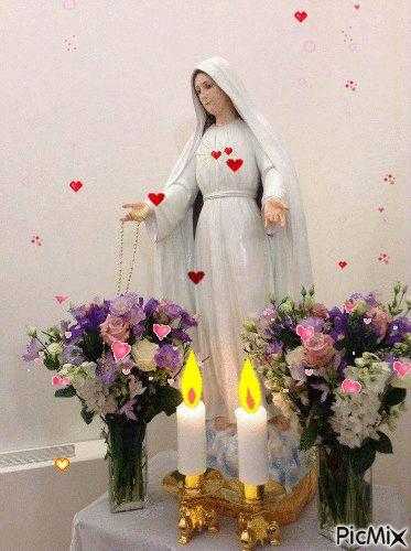 Foto: Nossa Mãe veio nos visitar..... Amém!