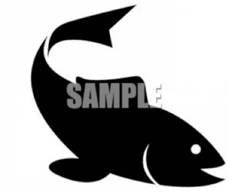 17 best Fish silhouett...