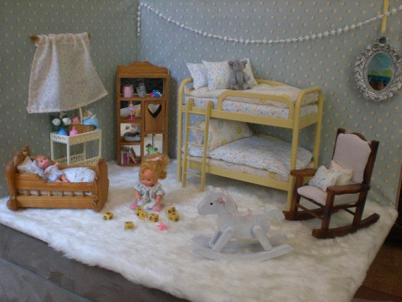 Hey, I found this really awesome Etsy listing at http://www.etsy.com/listing/87627349/barbie-doll-baby-nursery-complete-room