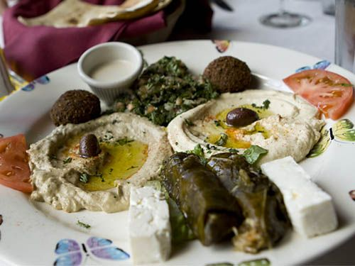 The vegetarian option kan zaman middle eastern food and for Armenian cuisine history