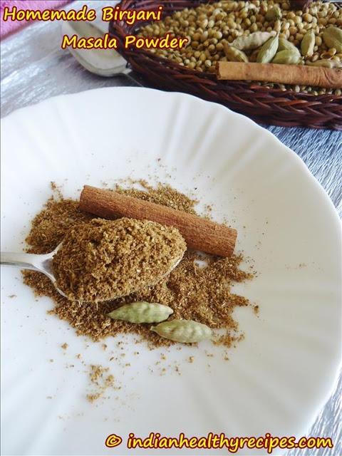 Homemade Biryani Masala Powder
