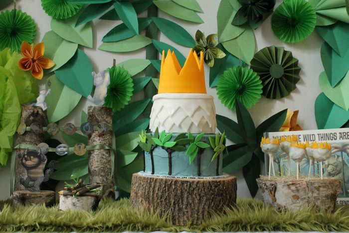 The wild, Parties and Cakes on Pinterest