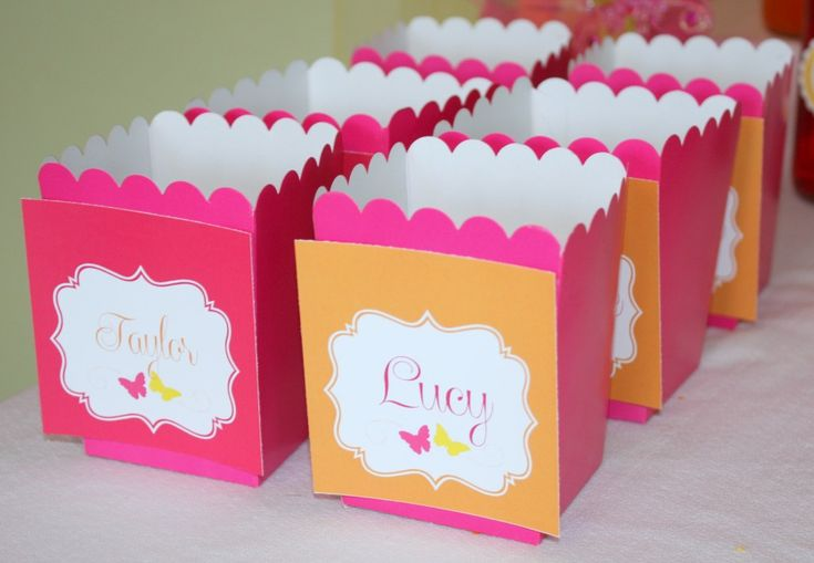 Butterfly Themed Favor Boxes : Best butterfly themed party ideas images on