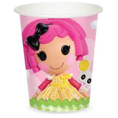 Lalaloopsy 9 oz. Paper Cups (8)