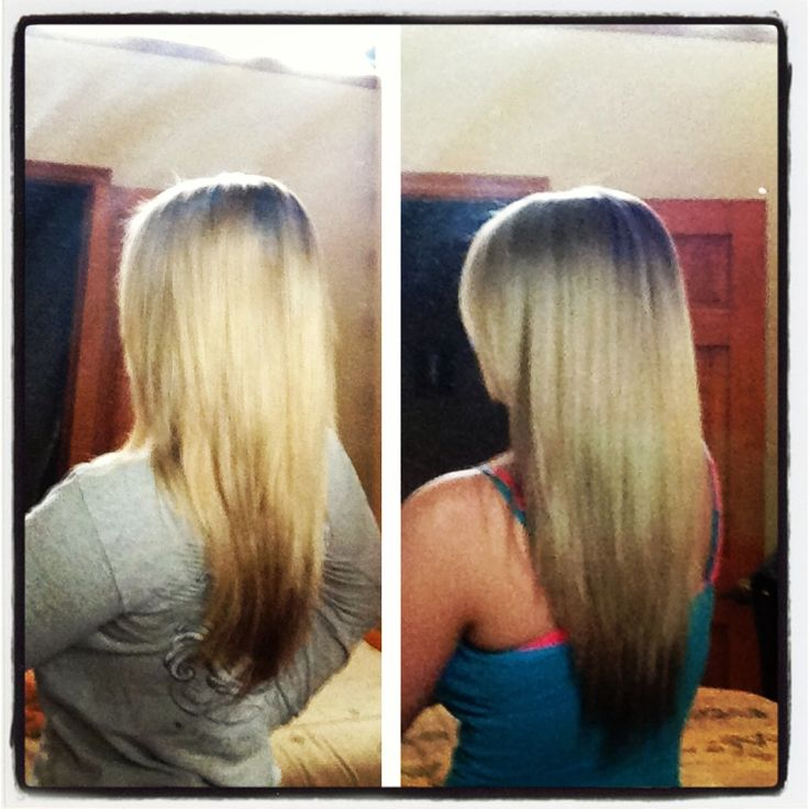 Only used Wen for a month, and I got these results:) Love my Wen hair care!