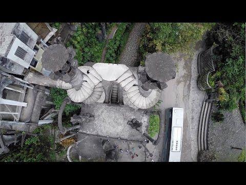 Las Pozas, Xilitla, desde el aire - DJI Phantom - YouTube