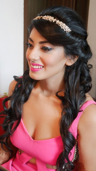Bridal Makeup Photos, Indian Bridal Makeup  Hairstyle Images  Hair -1299