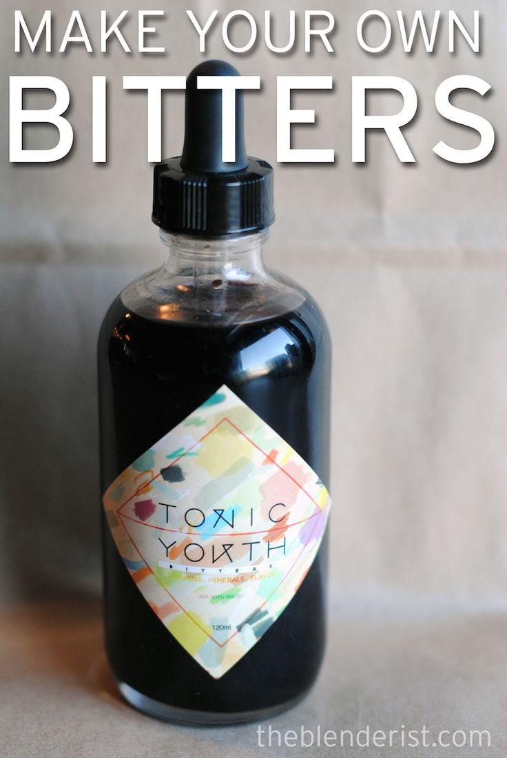 Homemade Hibiscus Bitters. These make a great gift, even for non-drinkers. Herbal bitters can help digestion, so you can drop them in sparkling water for extra flavour. A custom label makes these special.  Jasmine - The Blenderist http://theblenderist.com/homemade-bitters/